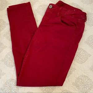 American Eagle Red Pants